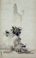Zeichnung des Zen-Künstlers Sesshu
