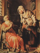 """Rembrandt, """"Der alte Tobias und seine Frau"""""""