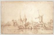 Zeichnung Willem van de Velde der Jüngere